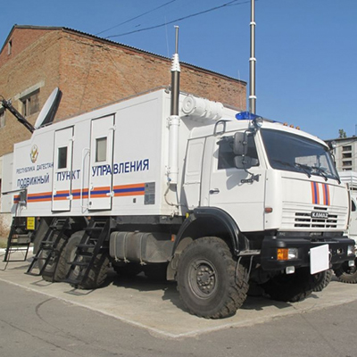 Command and staff vehicle, field communication center,  MYC and other mobile communications centers
