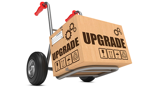Upgrading any equipment stock up to that of multisite-digital